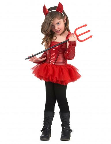 Vestito da diavolessa per bambina