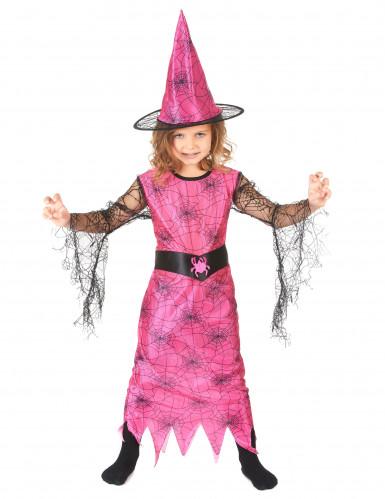 Vestito carnevale bambina strega ragno