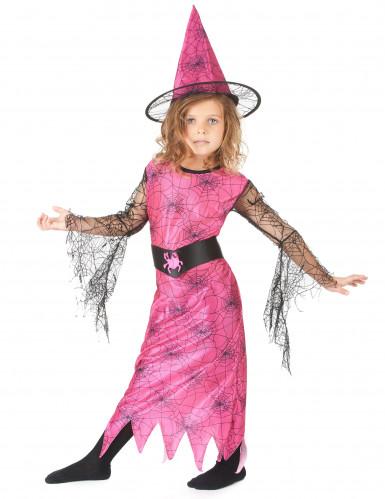 Vestito carnevale bambina strega ragno-1