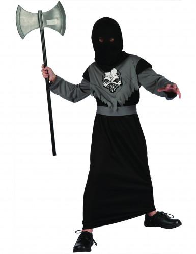 Costume giustiziere nero per bambino