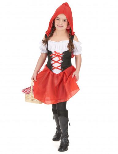 Costume Cappuccetto Rosso bimba