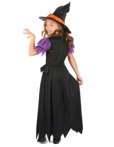 diventa nuovo nuovi stili stile limitato Costume da strega lungo per bambina