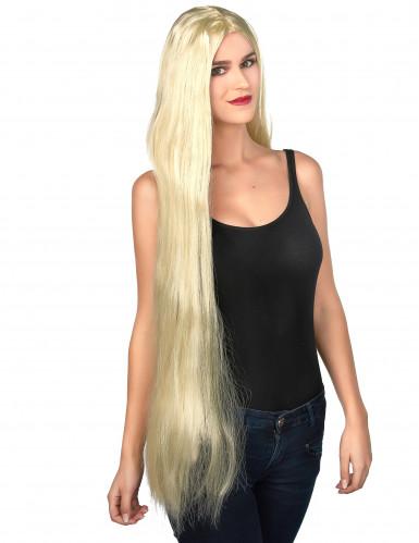 Parrucca bionda lunghissima da donna