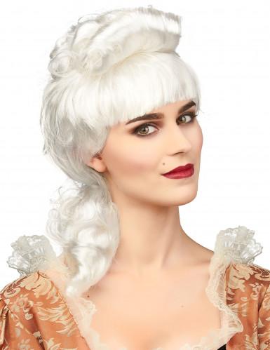 Parrucca bianca da nobildonna