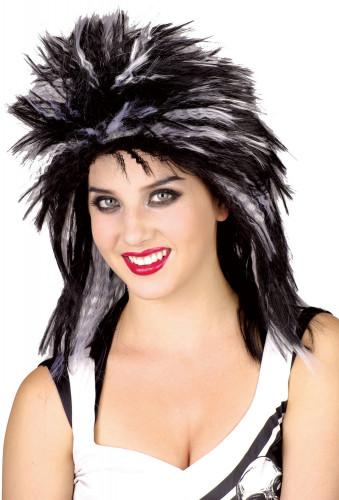 Parrucca punk per donna