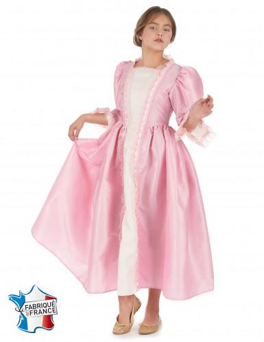 Costume da marchesa rosa per bambina