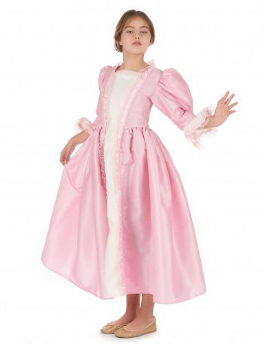 Costume da marchesa rosa per bambina-1
