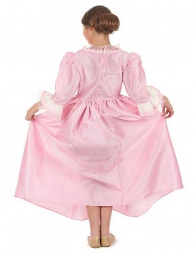 Costume da marchesa rosa per bambina-2