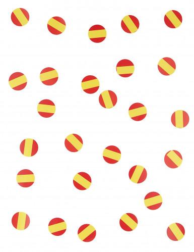 150 coriandoli con bandiera spagnola-1