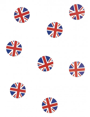 150 coriandoli da tavola bandiera UK