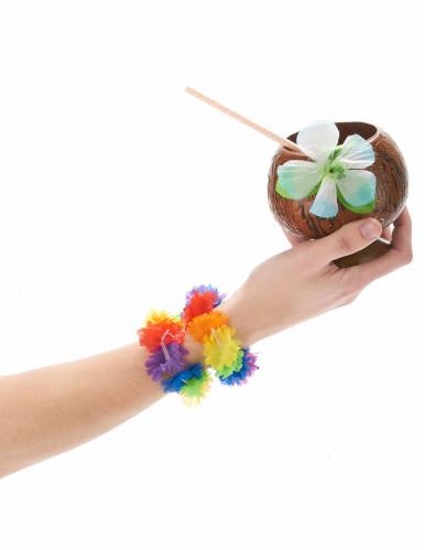 2 bracciali hawaiani multiocolore-1
