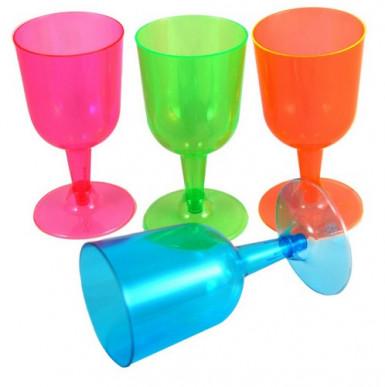 Bicchieri da vino colorati