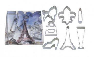 Kit di tagliapasta ispirati a Parigi