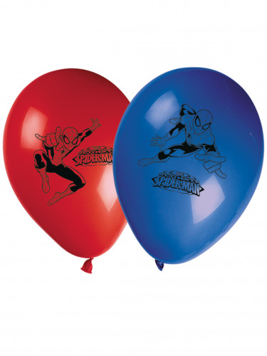 8 Palloncini colorati Spiderman 2