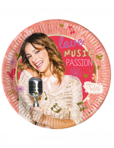 Confezione da 8 piatti Violetta passion™