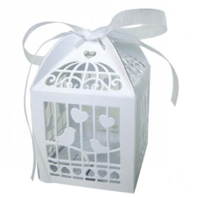 20 contenitori a forma di gabbie per uccelli