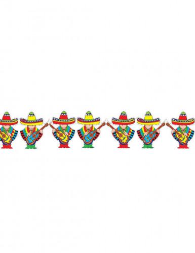 Festone con suonatori mariachi messicani