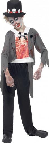 Costume Halloween da zombie sposo per bambino
