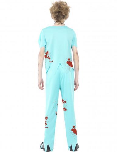 Costume da dottore zombie per bambino-2