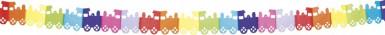 Ghirlanda Trenino multicolore
