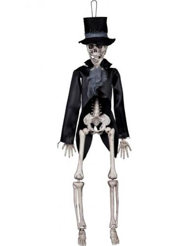 Scheletro sposo gotico Halloween da appendere