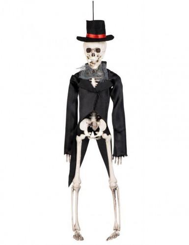 Scheletro sposo gotico Halloween da appendere-1