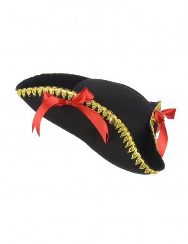 Cappello da pirata per adulto