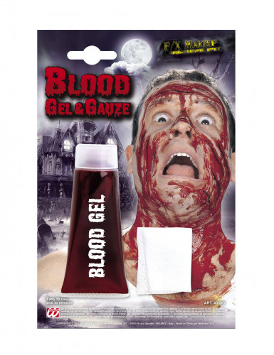 Tubetto gel di sangue finto per Halloween