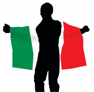 Kit per tifoso italiano Premium-2