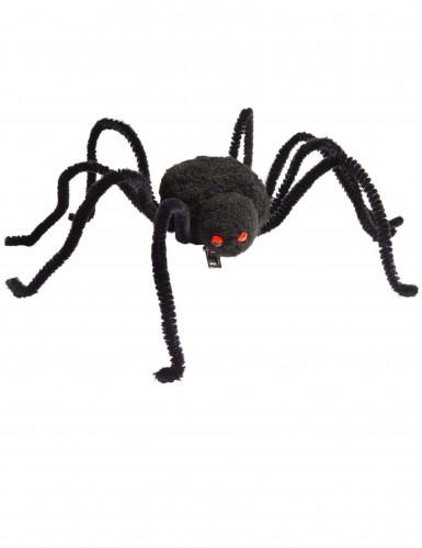Pinza per capelli con ragno per Halloween-1