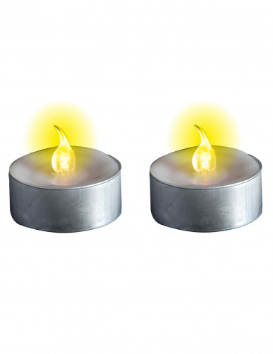 Candele luminose con le pile