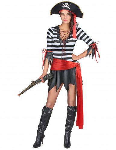 Costume pirata per donna