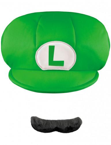 1 cappello e 1 paio di baffi Luigi™