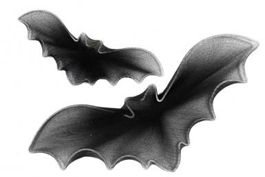 Set di pipistrelli decorativi per Halloween