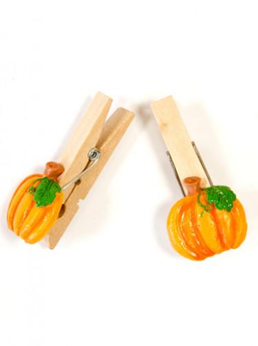 4 Mollette zucca Halloween