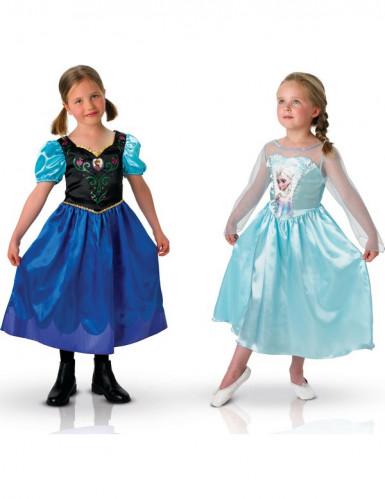 Coppia di costumi per bambine Anna ed Elsa Disney Frozen™ Carnevale