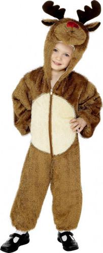 Costume piccola renna di Babbo Natale per bambino