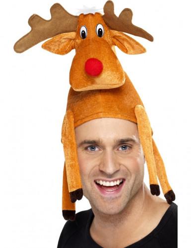 Cappello a renna per adulto