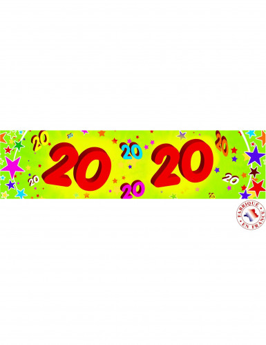 banner compleanno 20 anni