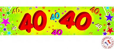 Festone per 40 anni