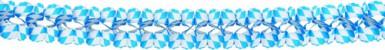 Ghirlanda Bavarese blu e bianca