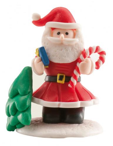 Decorazione per torte di Babbo Natale