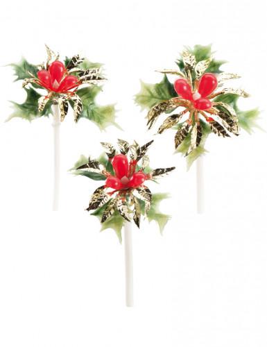 Set decorazioni torte di Natale