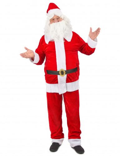 Costume da Babbo Natale deluxe per uomo
