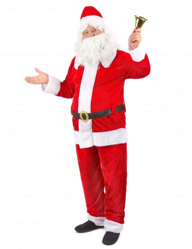 Costume da Babbo Natale deluxe per uomo-1
