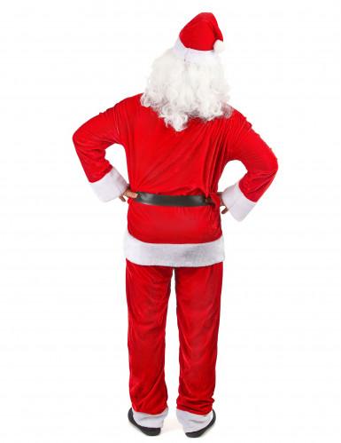 Costume da Babbo Natale deluxe per uomo-2