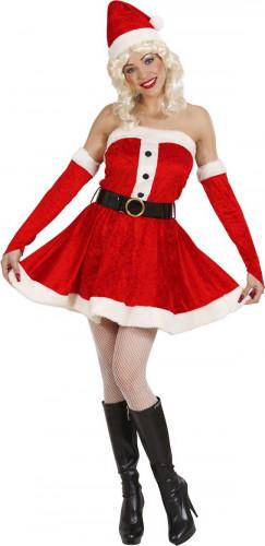 Costume da Mamma Natale con bustino da donna