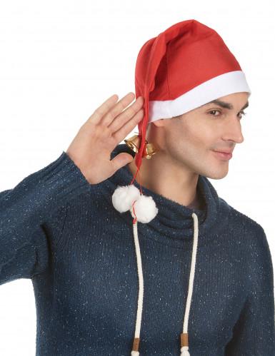 Cappello natalizio con campanelli per adulto-1