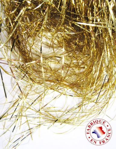Capelli d'angelo ignifughi color oro metallizzato