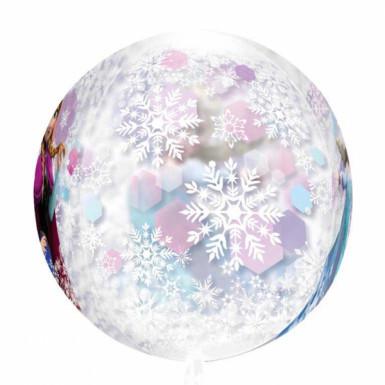 Palloncino tondo con Elsa e Anna di Frozen <br />- Il regno di Ghiaccio™-2